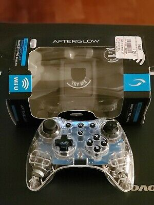 Wii U afterglow pro controller   - NINTENDO Wii U Excellent Condition Tested