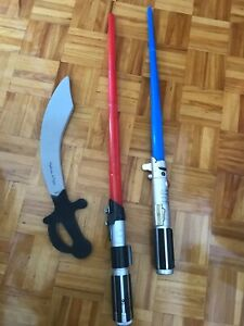 épée et sabres