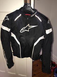 Alpinestars motor bike riding jacket like new condition