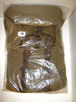 ONE VOICE THE MAPMAKER  BACK PACK, BROWN W/11,000 BATTERY CHARGER BUILT IN NEW