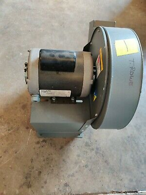 New Dayton 4c108 10-916 In High Pressure Blower With Century 10 Hp Motor
