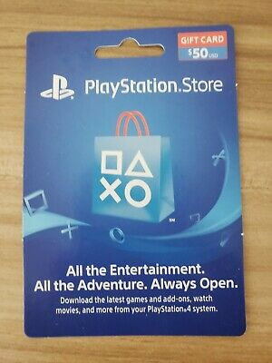 Sony Playstation $50 Store Gift Card for PS4/PS3/PS Vita