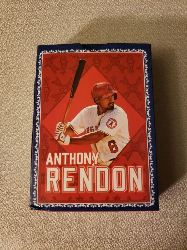 Anthony Rendon Playing Cards Angels Giveaway May 9, 2021 Bally Sports