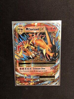 Pokémon Tcg Ultra Rare Mega Charizard EX 13/108 XY Evolutions Mint!