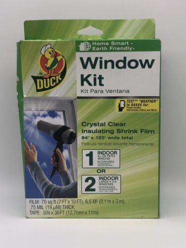 Brand 84-by-120-Inch Shrink Film Patio Door Kit - Duck - 129
