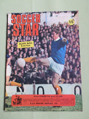 SOCCER STAR - UK FOOTBALL MAGAZINE- 18 JULY 1969 - ALAN BALL - GEORGE BEST (Best Football Magazine Uk)