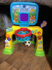 Vtech soccer and basketball for toddlers