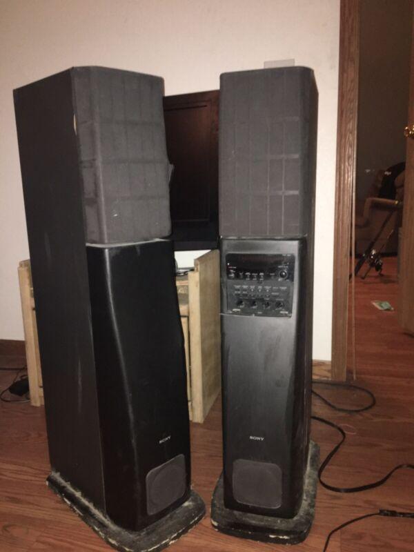 Sony Sa Va3 Speakers