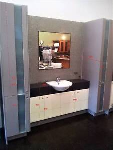 VANITY SET WITH 2 TALL STORAGE CABINETS Burwood Whitehorse Area Preview