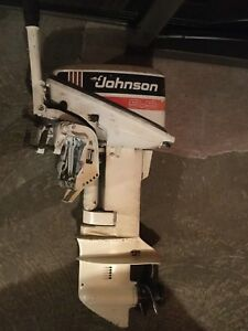 1991 Johnson 9.9 Outboard
