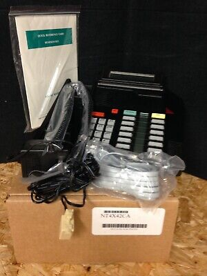 Nortel Aastra M5316 Nt4x42ca Black Refurbished Centrex Telephone
