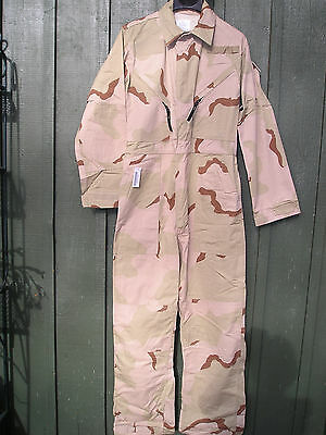 Desert Camouflage Mechanic's Coveralls, Size XX-Large - Free Shipping