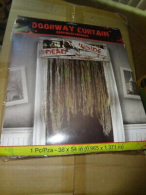 Halloween Doorway Curtain (HALLOWEEN DOORWAY CURTAIN-1-PC. 38 X 54)