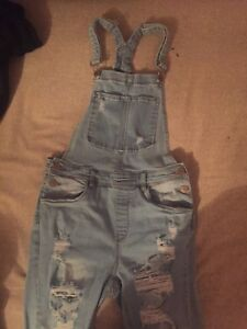 Women's size 5 overall jeans