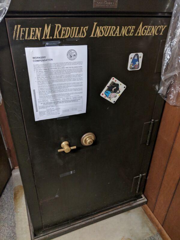 Antique Safe Safe-Cabinet Standard Type M.E.