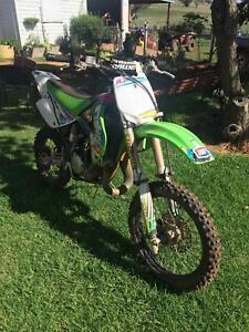 KX 85 motorcycle