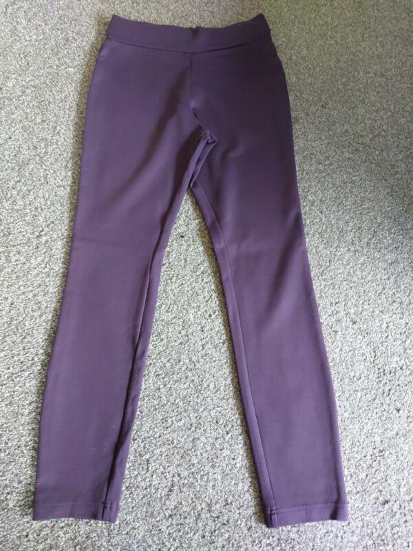 Next Womens Jeggings Thick Leggings Size 8r Purple