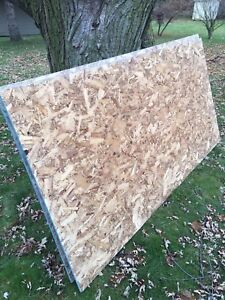 2 sheets of osb plywood for sale