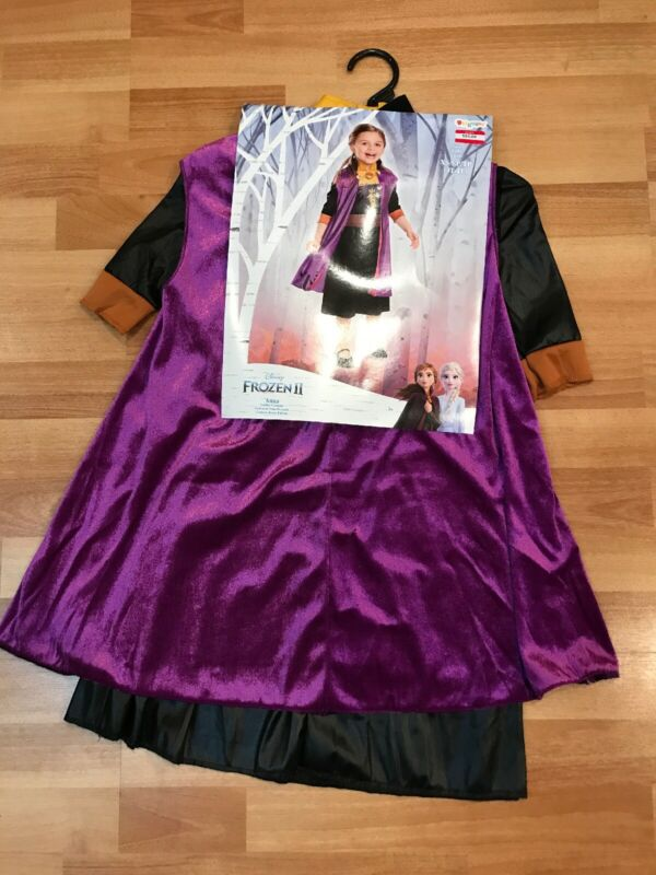 Disguise Frozen II Anna Toddler Costume XS (3T-4T) BRAND NEW!