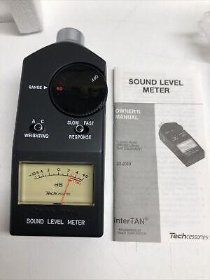 Realistic Sound Level Meter No 33-2050 Radio Shack