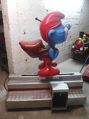 Kiddy Ride Fahrautomat Schlumpf Fahrgeschäft Schaukelautomat