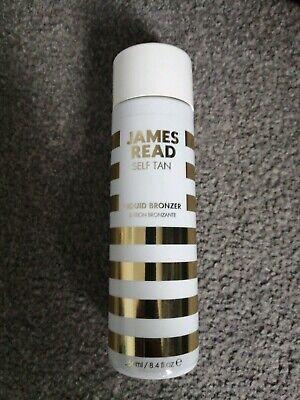 James Read Self Tan Liquid Bronzer 250ml BNandUnused