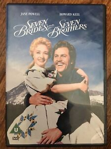 Jane Powell Howard Keel SEVEN BRIDES FOR 7 BROTHERS ~ Classic MGM Musical UK DVD