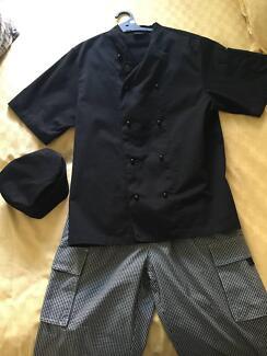 Complete Chef's Uniform UNISEX - Jacket/Pants/Skull Cap Sumner Brisbane South West Preview