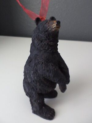 American Black Bear Christmas Ornament - Standing