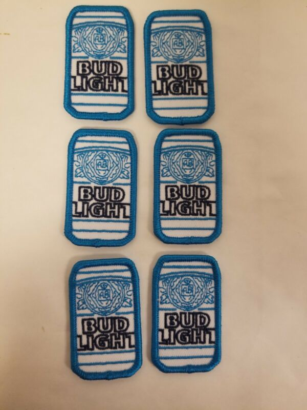 "Bud Light Patch Adhesive Patch 1""x2"""