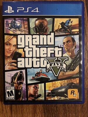 Grand Theft Auto V PS4 Sony PlayStation 4 GTA 5 Premium Edition - Free shipping