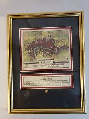- 1707 Pieter Van Der Aa Limited Edition Map England River Thames London 292/400