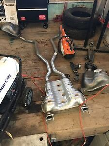 2016 Jeep Grand Cherokee exhaust system
