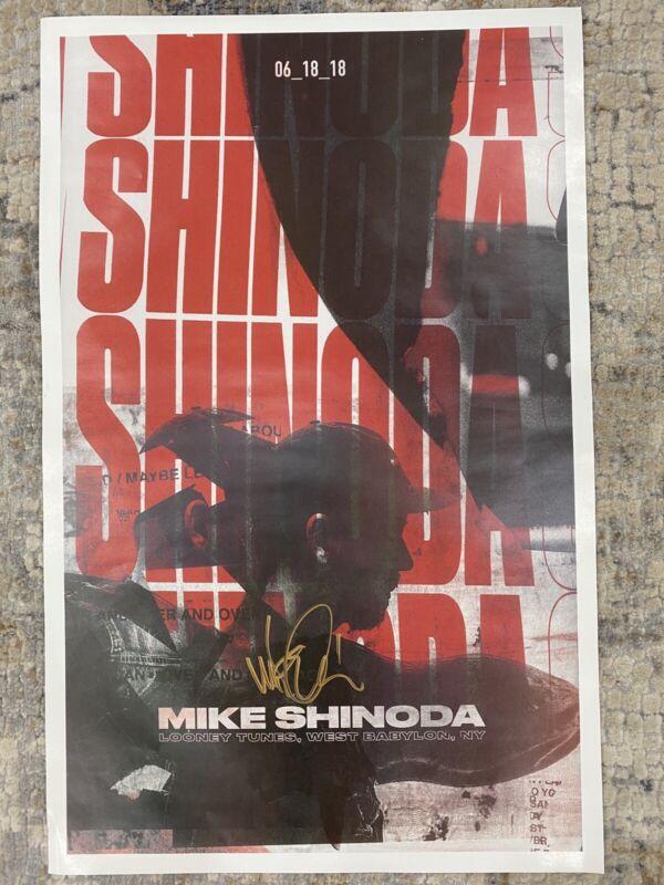 Linkin Park Mike Shinoda Signee Poster