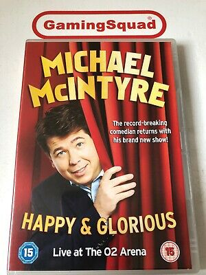 Michael McIntyre, Happy & Glorious DVD, Supplied by Gaming Squad ()