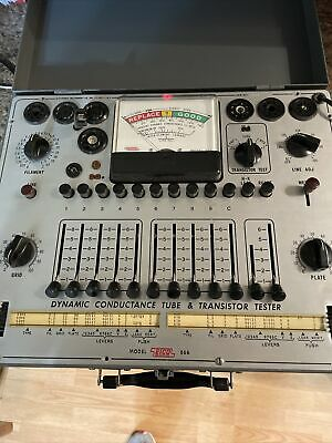 Very Good Condition Eico 666 Dynamic Conductance Tube And Transistor Tester