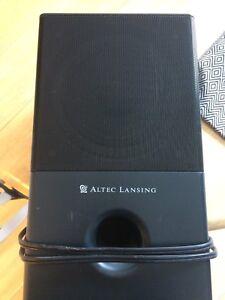 Computer speakers (altec Lansing)