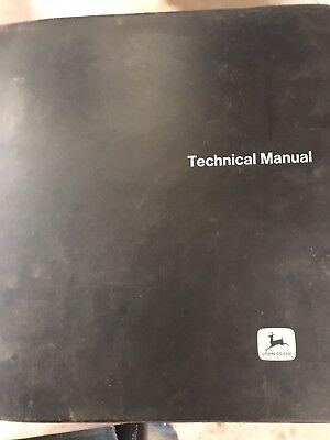 John Deere Jd401-b Tractor And Loader Technical Manual