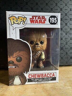 Chewbacca pop star wars collectible funko bobbleheads