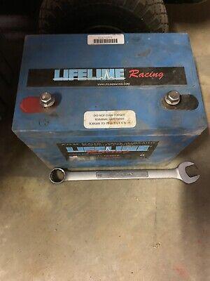 - Used LIFELINE BATTER AGM 16V Race Battery