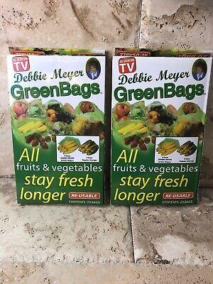 Debbie Meyer Green (Debbie Meyer Green Bags Stay Fresh Vegetables (2-Pack)(L/M))