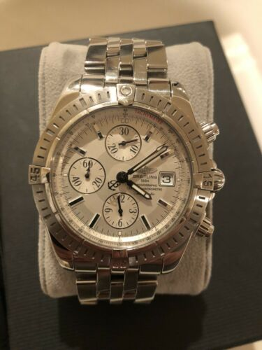 $2150.00 - breitling chronomat evolution a13356