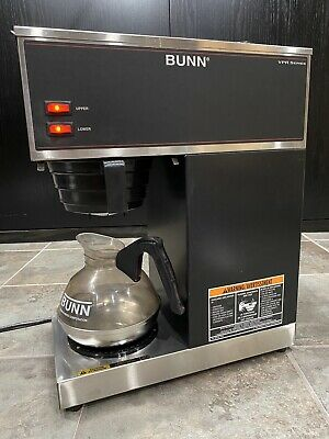 Bunn Vpr Series 2 Warmer Burner Commercial Coffee Maker Brewer Nice