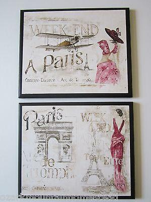 Знаки и вывески Paris Pink elegant