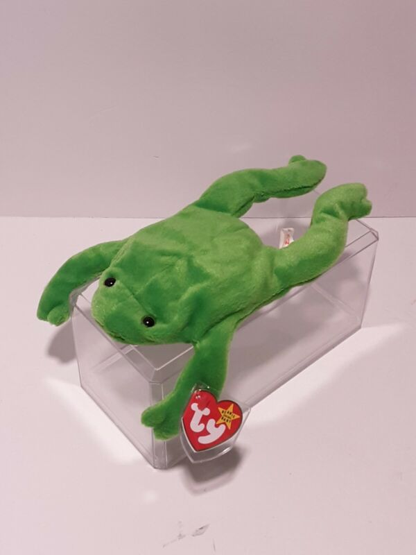 Ty Beanie Babies Legs The Frog Rare Retired Mint Condition
