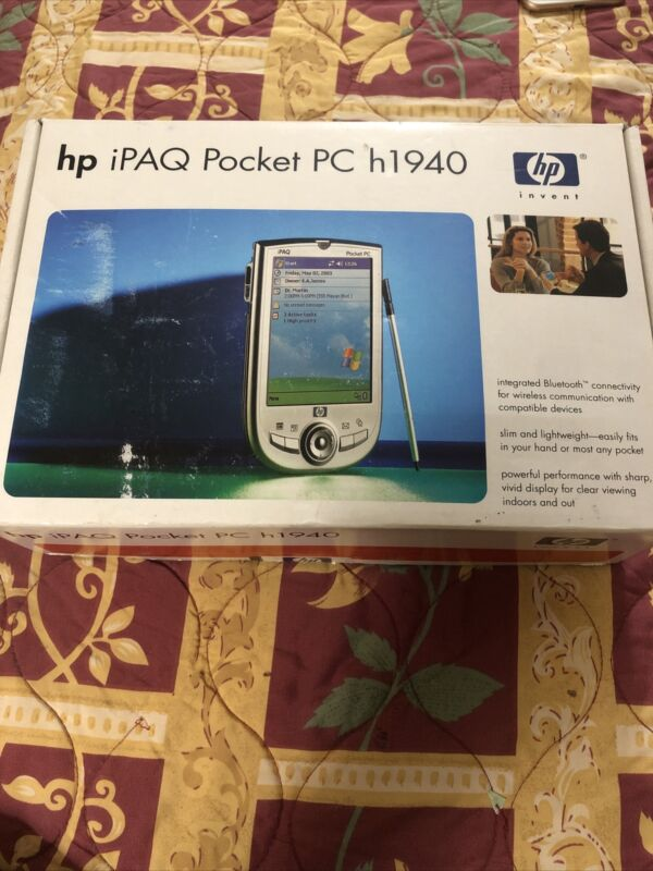 Hp Ipaq Pocket Pc H1940