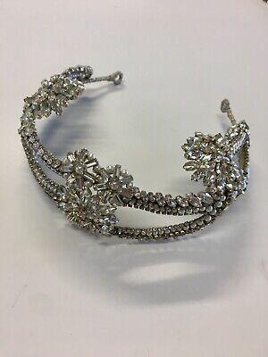 Jenny Packham Silver Wedding Headdress Execellent Condition