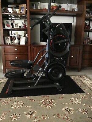 bowflex max trainer m3, black, 14 minute workout, whole-Body workout, 8 resistan