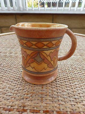 Charlotte Rhead Zig Zag pattern TL1 small jug