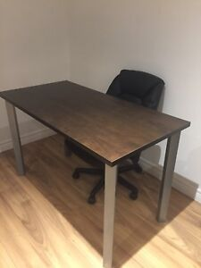 Desk, Chair, & Lamp (new condition)